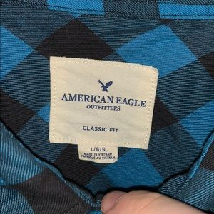 American Eagle Outfitters Shirts - American Eagle Plaid Button Up
